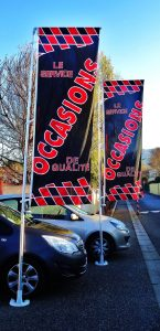 Drapeaux ELEGANCE - Occasion -